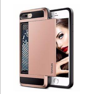 Vofolen credit card holder phone case